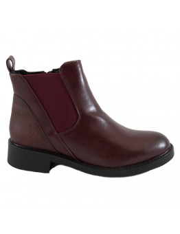Ankle Boots Μπορντώ
