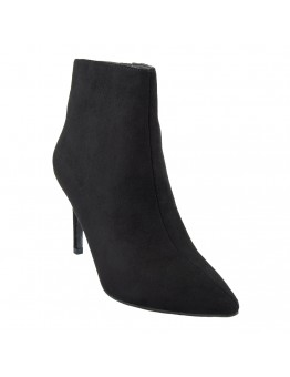Ankle Βoots Mαύρα Suede