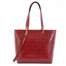 Τσάντα Χειρός Κόκκινη με Logo Doca