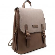 Backpack David Jones Μπεζ