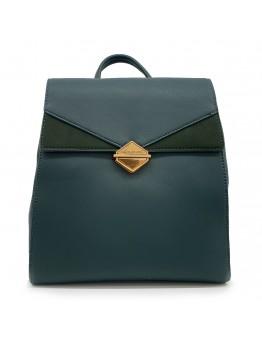 Backpack David Jones Πράσινο