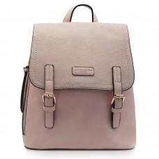 Backpack David Jones Ροζ
