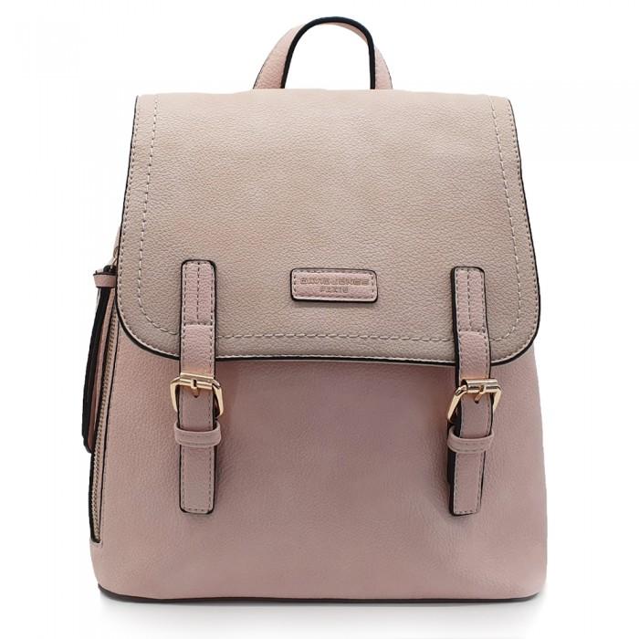 Backpack David Jones Ροζ Τσάντες