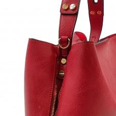 Τσάντα Ώμου Κόκκινη