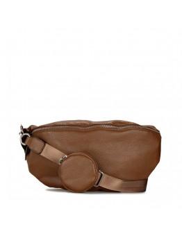 Τσάντα Μέσης Καφέ