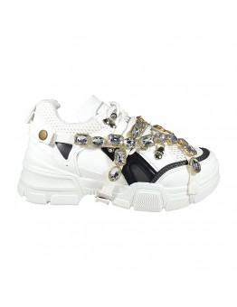 Diamond Sneakers Λευκά