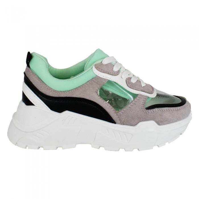 Sneakers Γκρι Γυναικεία