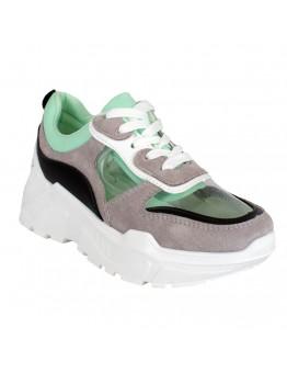 Sneakers Γκρι Διαφάνια