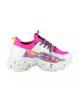 Sneakers Φούξια