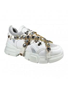 Sneakers Diamond Λευκά