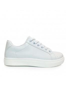Αθλητικό Παπούτσι Κροκό Λευκό