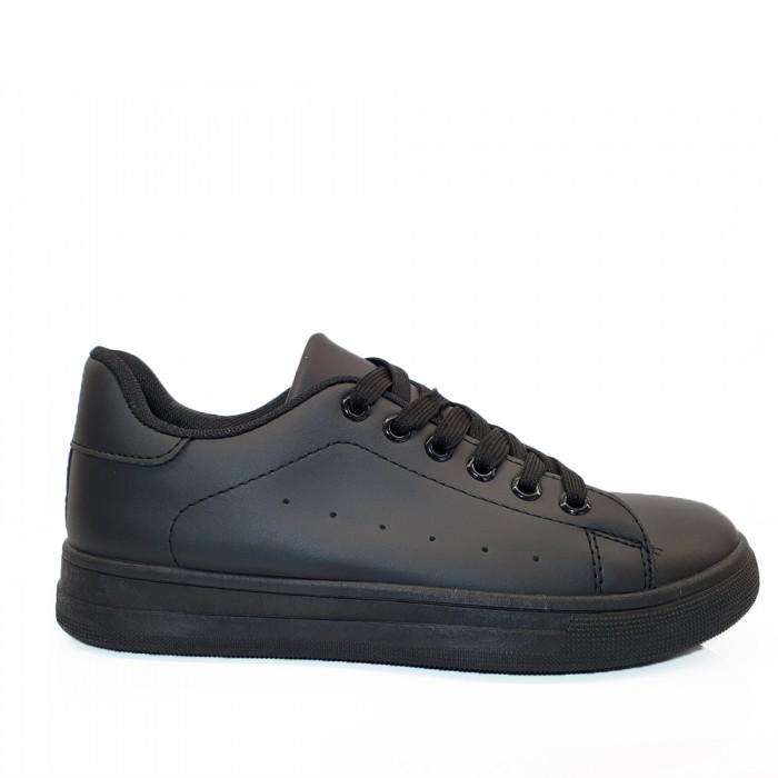 Casual Sneaker Μαύρο Γυναικεία