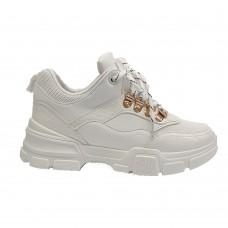 Αθλητικό Sneaker Λευκό