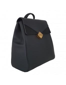 Backpack David Jones Μαύρο