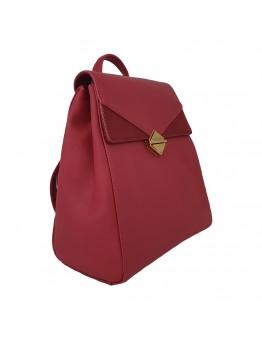 Backpack David Jones Κόκκινο