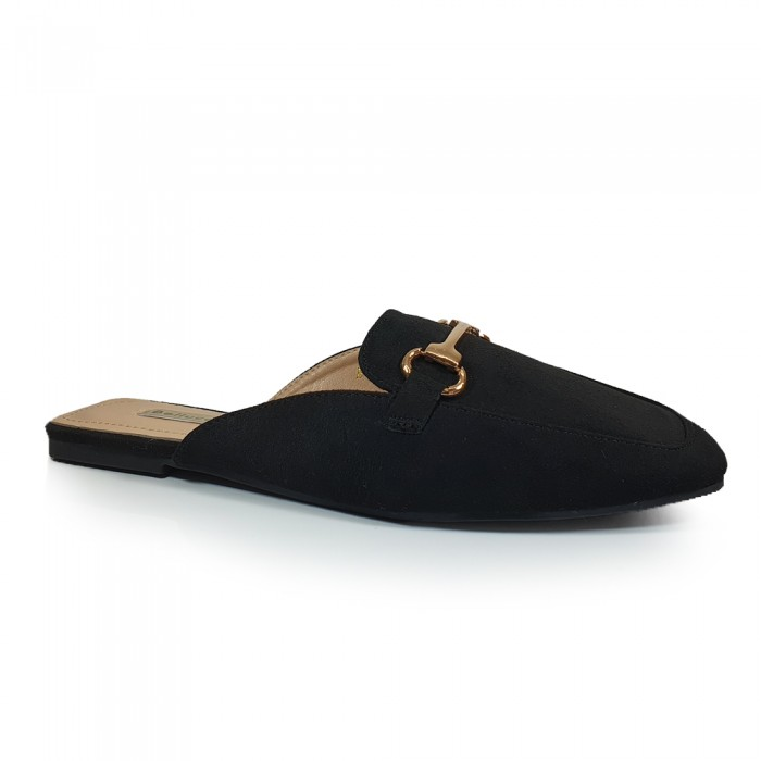 Loafers Mules Μαύρα Γυναικεία