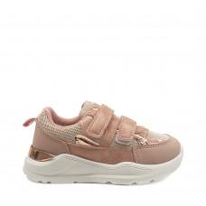 Παιδικά Κοριτσίστικα Αθλητικά Παπούτσια Ροζ Χρυσό