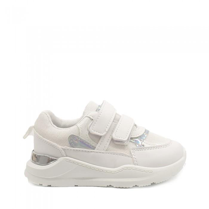 Παιδικά Κοριτσίστικα Αθλητικά Παπούτσια Λευκά Παιδικά