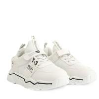 Παιδικά Αγορίστικα Αθλητικά Παπούτσια Λευκά
