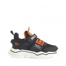 Παιδικά Αγορίστικα Αθλητικά Παπούτσια Μαύρα