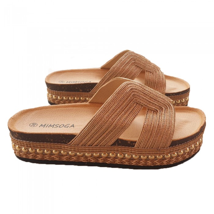 Flatforms Gold NEW IN