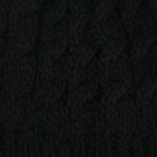 Πλεκτό Σκουφάκι Μαύρο