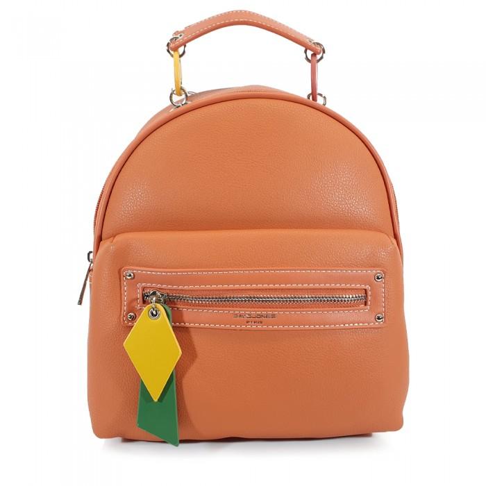 Backpack David Jones Κοραλί  Γυναικεία