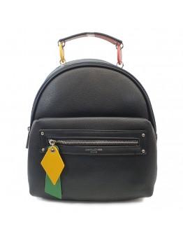 Backpack David Jones Casual Μαύρο