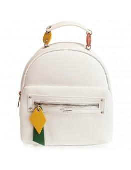 Backpack David Jones Casual Λευκό